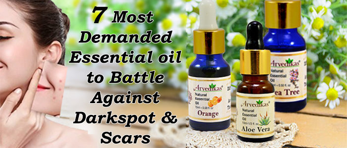 Essential Oil to battale agains dark spots