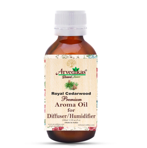 Royal Cedarwood Fragrance Oil for Diffusers & Humidifiers-100Ml/3.38oz