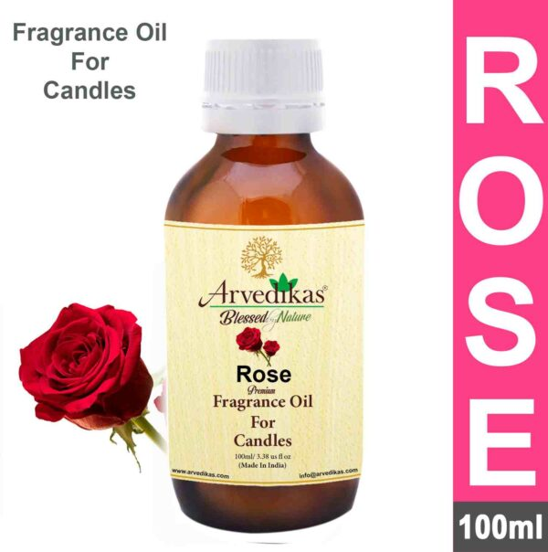 Rose Fragrance Oil for Candle Making-100Ml