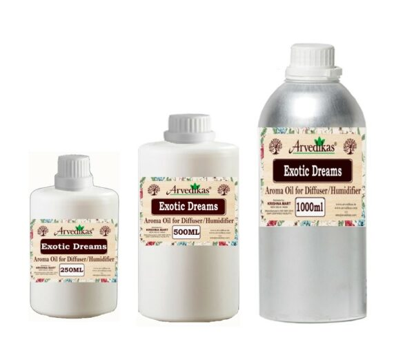 Exotic Dreams Fragrance Oil For Diffuser & Humidifiers-250ml to 1000ml