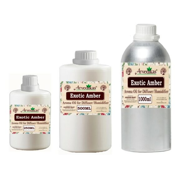 Exotic Amber Fragrance Oil For Diffuser & Humidifiers-250ml to 1000ml
