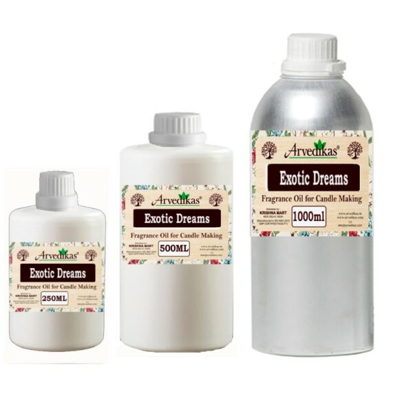Exotic Dreams Fragrance Oil For Candle-250Ml to 1000Ml
