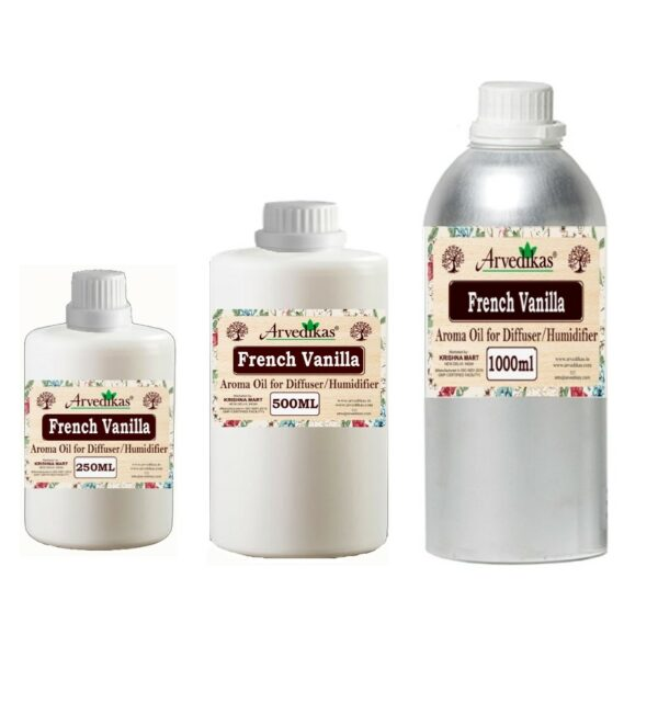 French Vanilla Fragrance Oil For Diffuser & Humidifiers-250ml to 1000ml
