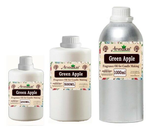 Green Apple Fragrance Oil For Candle-250Ml to 1000Ml