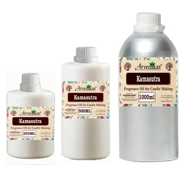 Kamasutra Fragrance Oil For Candle-250Ml to 1000Ml