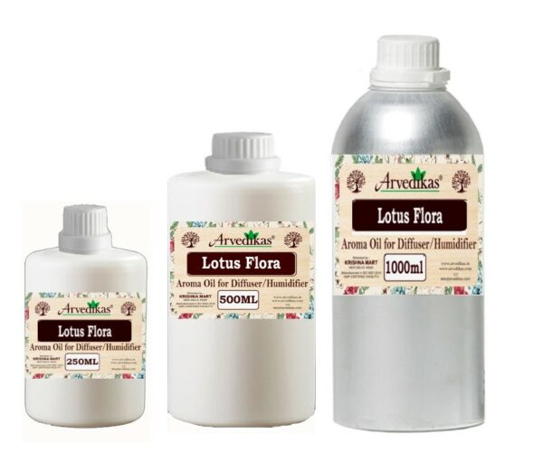 Lotus Flora Fragrance Oil For Diffuser & Humidifiers-250ml to 1000ml