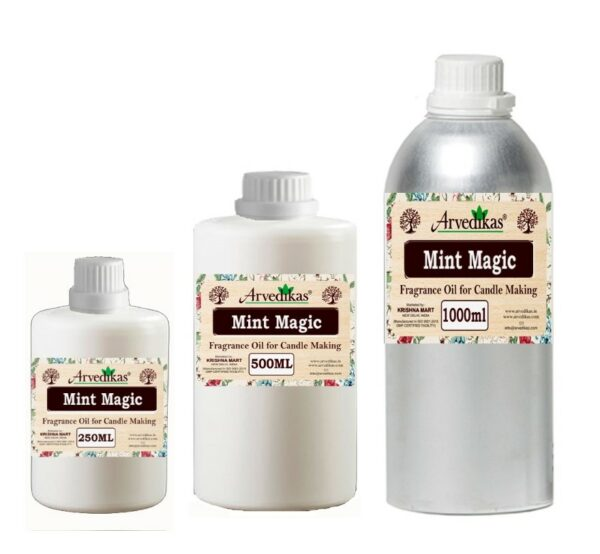 Mint Magic Fragrance Oil For Candle-250Ml to 1000Ml