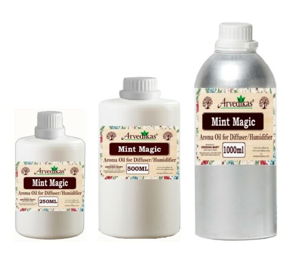 Mint Magic Fragrance Oil For Diffuser & Humidifiers-250ml to 1000ml