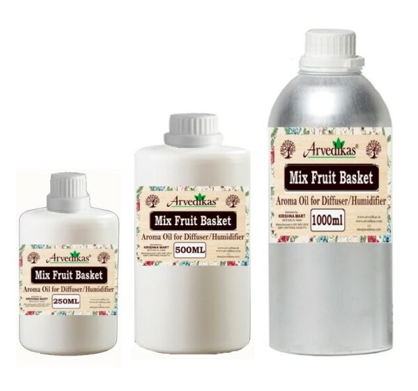 Mix Fruit Basket Fragrance Oil For Diffuser & Humidifiers-250ml to 1000ml