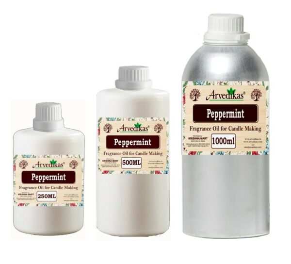 Peppermint Fragrance Oil For Candle-250Ml to 1000Ml