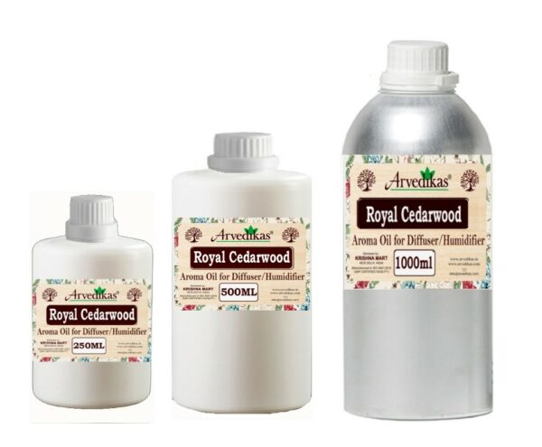 Royal Cedarwood Fragrance Oil For Diffuser & Humidifiers-250ml to 1000ml