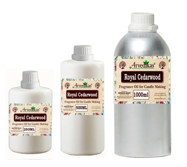 Royal Cedarwood Fragrance Oil For Candle-250Ml to 1000Ml