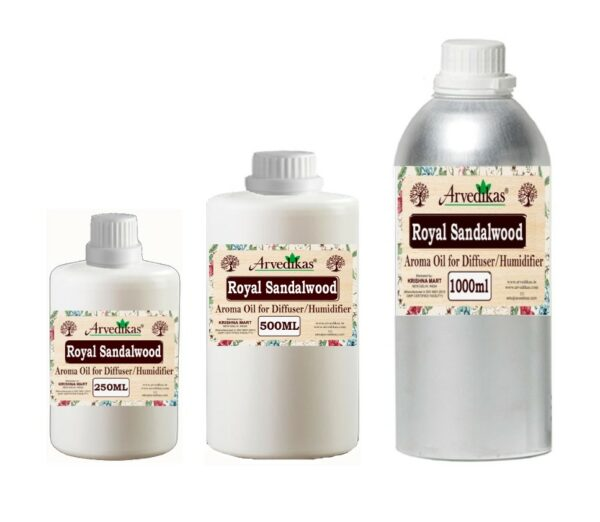 Royal Sandalwood Fragrance Oil For Diffuser & Humidifiers-250ml to 1000ml