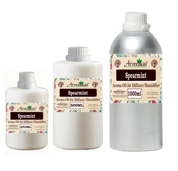 Spearmint Fragrance Oil For Diffuser & Humidifiers-250ml to 1000ml