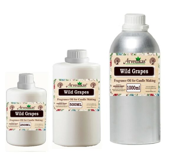 Wild Grapes Fragrance Oil For Candle-250Ml to 1000Ml
