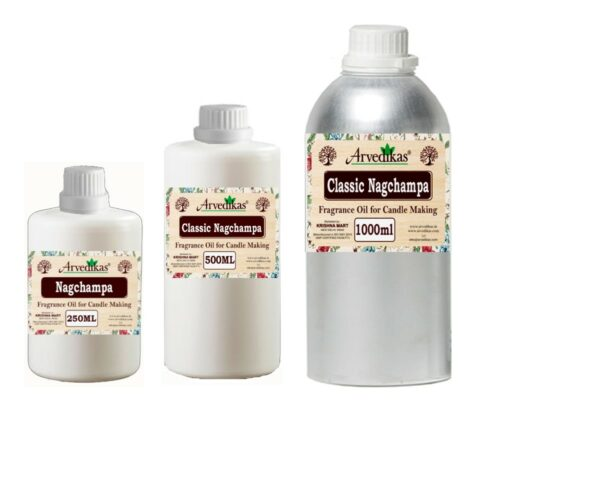 Classic Nagchampa Fragrance Oil For Candle-250Ml to 1000Ml