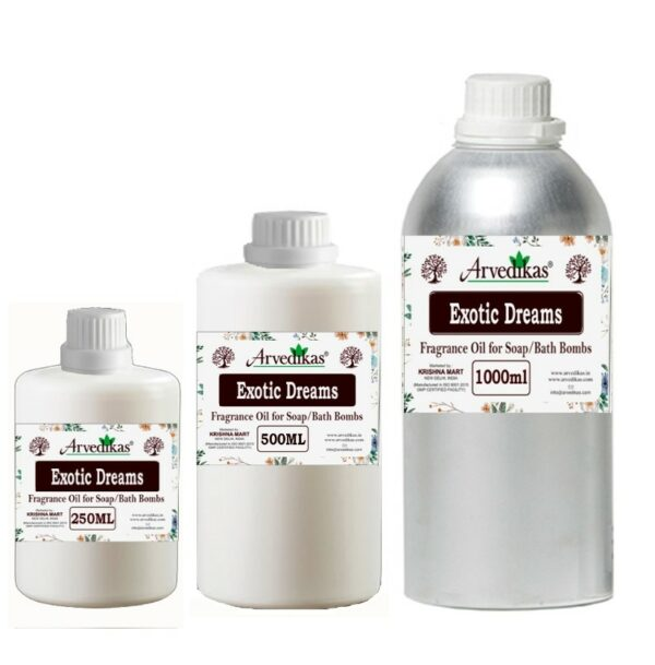 Exotic Dreams Fragrance Oil For Soap / Bath Bombs-250Ml to 1000Ml